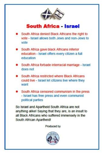 Apartheid?